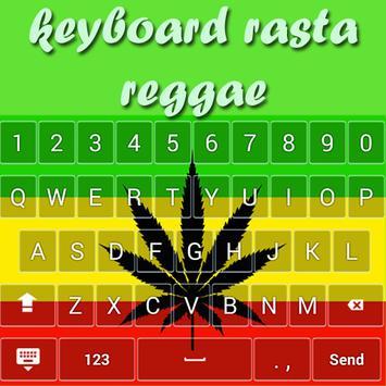 Reggae Rasta Keyboard Themes poster