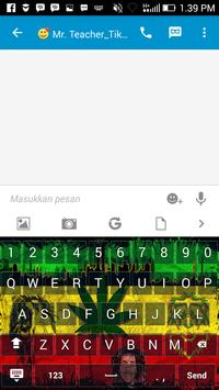 Reggae Rasta Keyboard Themes apk screenshot