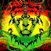 Rasta Reggae Music Lock Screen icon