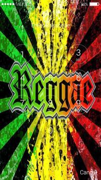 Rasta Reggae Music Lock Screen screenshot 3