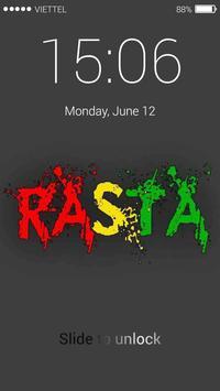 Rasta Reggae Music Lock Screen screenshot 4