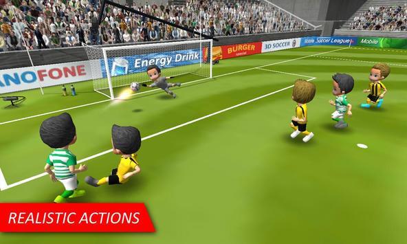 Mobile Soccer League Cartaz
