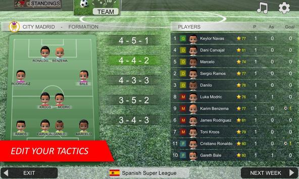 Mobile Soccer League imagem de tela 3