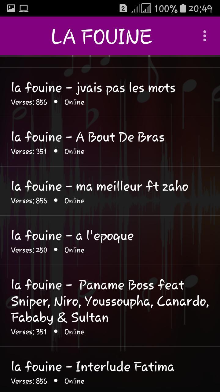 ZAHO TÉLÉCHARGER MUSIC MP3 GRATUIT FT LA FOUINE