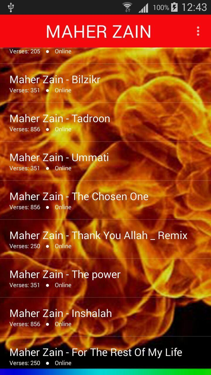 اغاني ماهر زين 2018 بدون نت - maher zain for Android - APK