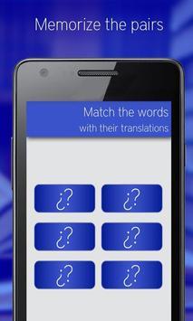 Learn Spanish Vocabulary apk screenshot