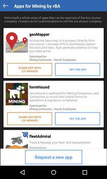 rBA - App catalog for Mining apk screenshot