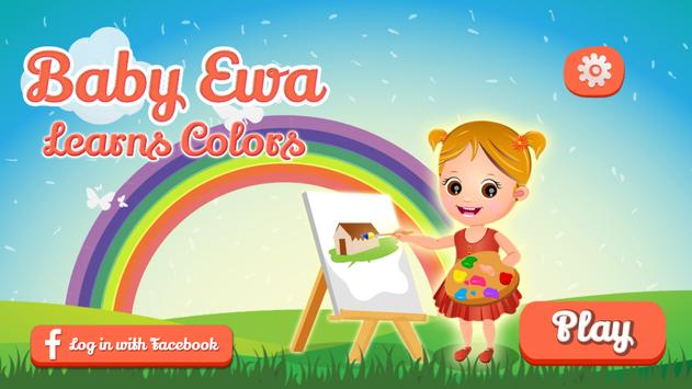 Baby Ewa Learns Color poster
