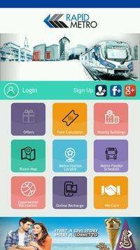 Rapid Metro Gurugram poster