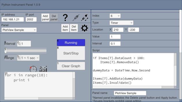 GUI Maker for ESP8266 & ESP32 - Python Inst. Panel apk screenshot