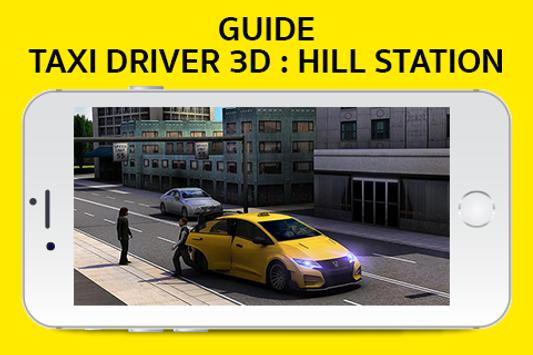 Guide Taxi Driver:Hill Station screenshot 1