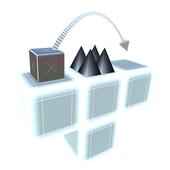Cube Flip Dive! icon