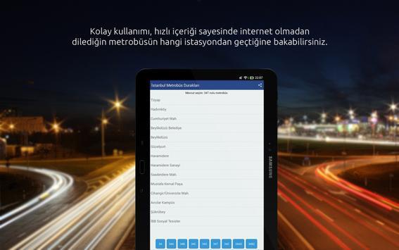 Istanbul Metrobus Stations screenshot 3