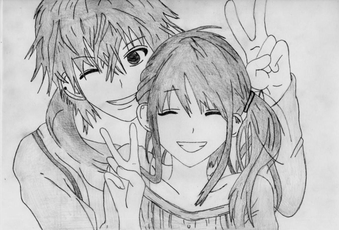 Gambar Anime Gif Couple Anime Wallpaper Untuk Android Dan