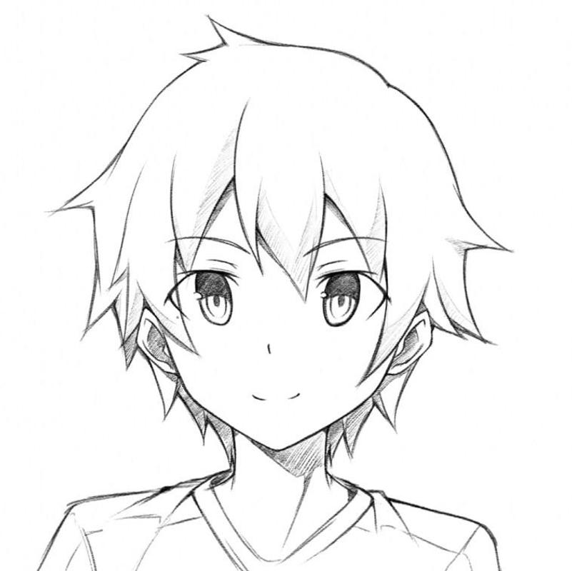 Drawing Anime Boy For Android Apk Download