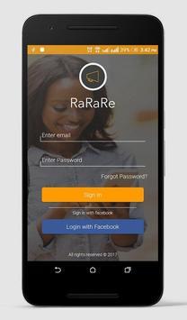 RaRaRe Partner screenshot 1
