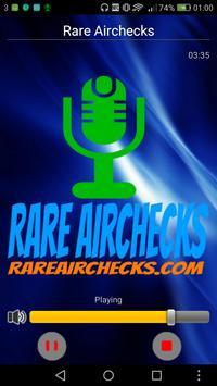 Rare Airchecks poster