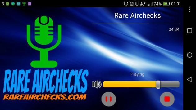 Rare Airchecks screenshot 3