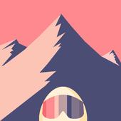 Alpine Egg ★ zigzag hd surfer ski snow board games icon