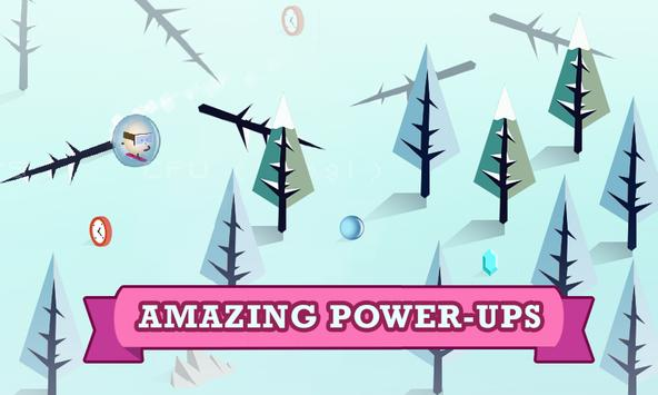 Alpine Egg ★ zigzag hd surfer ski snow board games apk screenshot