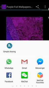 Purple Foil Wallpapers HD apk screenshot