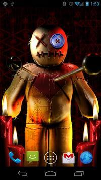Voodoo Doll Free Wallpaper poster