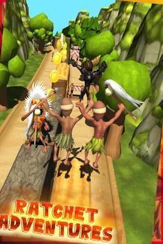 ratchet subway clank jungle run screenshot 3