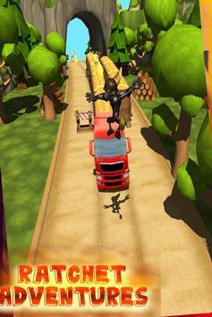 ratchet subway clank jungle run screenshot 2