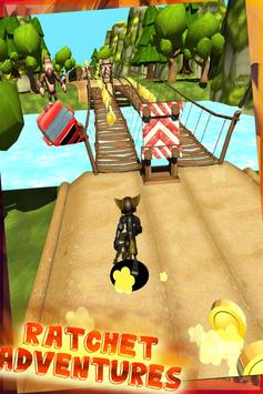 ratchet subway clank jungle run screenshot 4