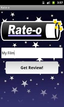 Rate-o Reviews poster