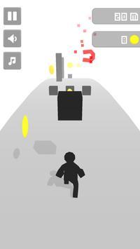 Stickman Runner 3D 🏃 poster