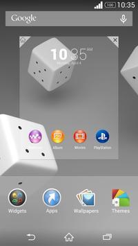 Theme Xperien - Cubes apk screenshot