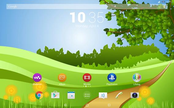 Theme Xperien - Summer Lands apk screenshot