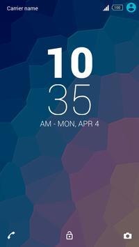 Theme Xperien - Pixelated apk screenshot
