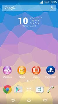 Theme Xperien - Pixelated poster