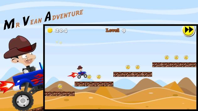 Mr Pean Desert Rush Adventure poster