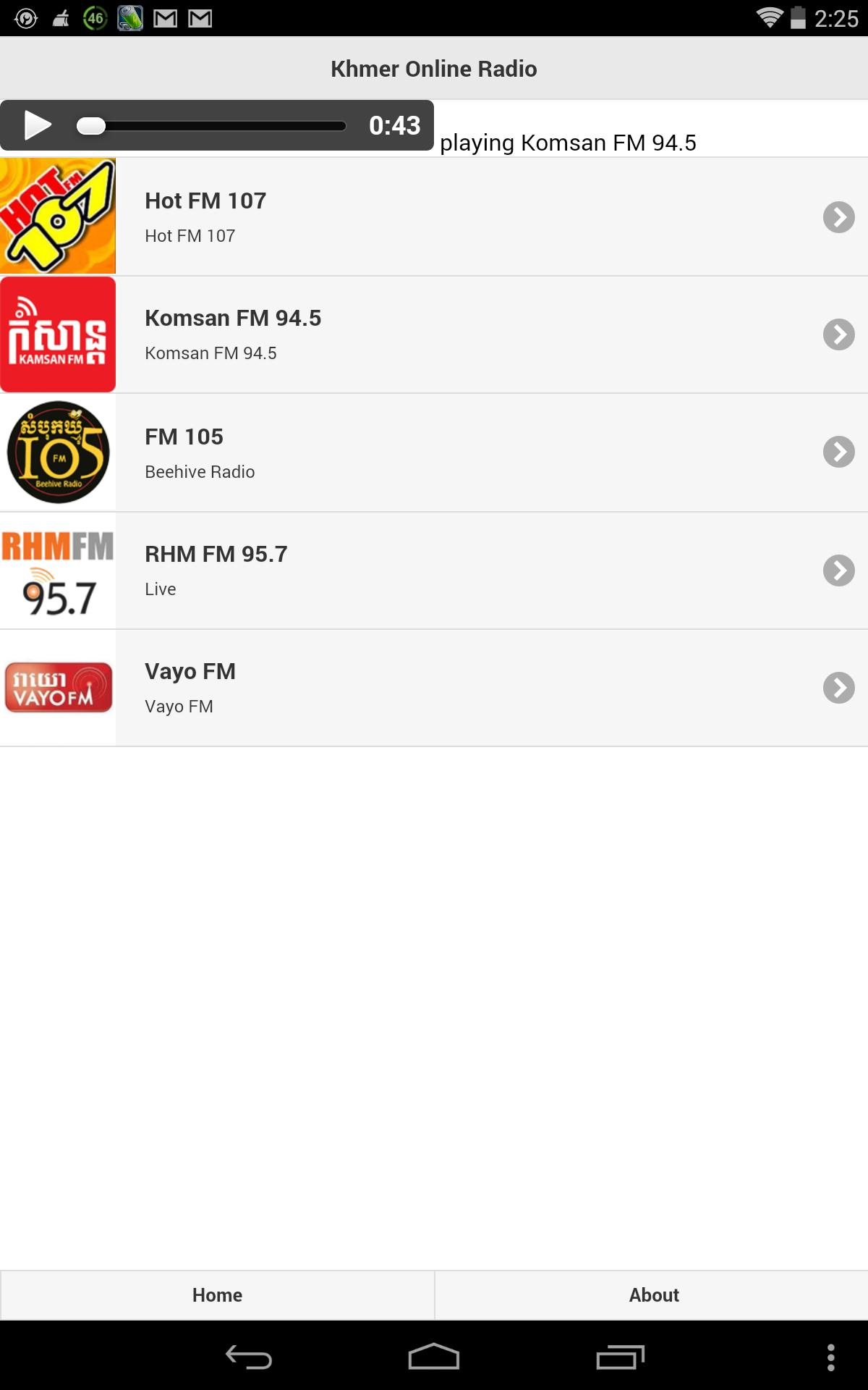 Khmer Online Radio for Android - APK Download