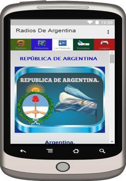 Emisoras, Radios de Argentina. apk screenshot