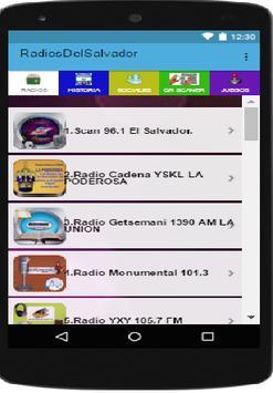 Radios de El Salvador screenshot 1