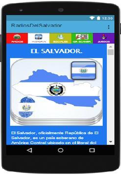 Radios de El Salvador screenshot 9