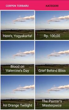 Cerpen Bahasa Inggris Pilihan apk screenshot