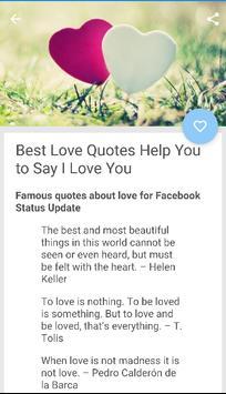 Best Love Status 2018 apk screenshot