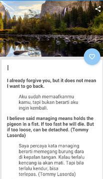 Kata Mutiara Bahasa Inggris Dan Artinya For Android Apk Download