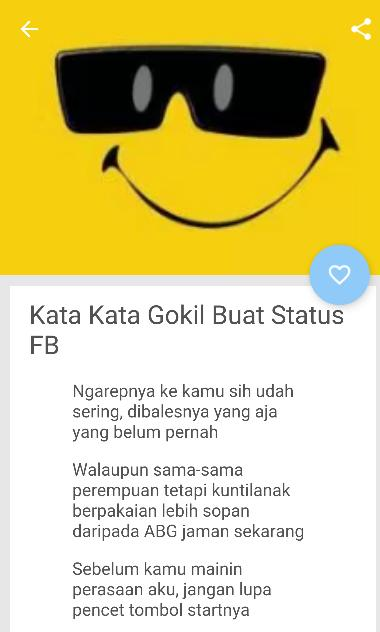 Status Fb Lucu 2018 For Android Apk Download
