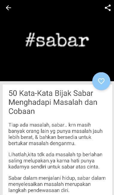 Status Sabar Wa For Android Apk Download