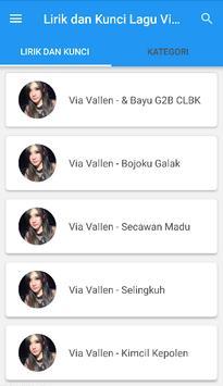 Kunci Gitar Dangdut Via Vallen screenshot 7