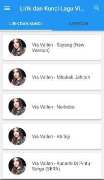 Kunci Gitar Dangdut Via Vallen screenshot 4