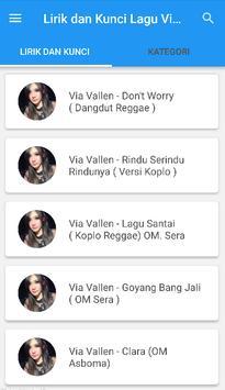 Kunci Gitar Dangdut Via Vallen screenshot 5