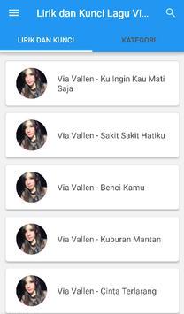 Kunci Gitar Dangdut Via Vallen screenshot 6