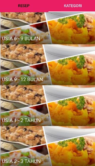 Resep Makanan Bayi Dan Batita For Android Apk Download